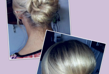 Elegant low chignon